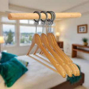Wieszak hotelowy antykradzieżowy